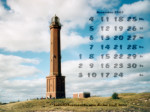 wallpaper November 2002 - lighthouse Norderney