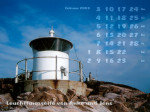 wallpaper February 2003 - lighthouses Kullen (S)