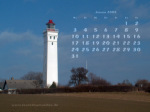 wallpaper January 2005 - lighthouse Kjelds Nor (DK)