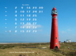 wallpaper May 2005 - lighthouse Schiermonnikoog (Netherlands)