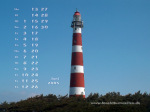 wallpaper June 2005 - lighthouse Ameland (Netherlands)