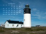 wallpaper December 2005 - lighthouse Hoburgen (Gotland - S)