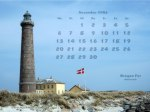 wallpaper November 2006 - lighthouse Skagen - Jutland (DK)