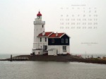 wallpaper December 2006 - lighthouse Marken - IJsselmeer (NL)
