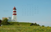 wallpaper November 2007 - lighthouse Alnes (N)