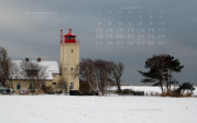 wallpaper January 2010 - lighthouse Westermarkelsdorf (D)