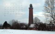 wallpaper January 2011 - lighthouse Neuland (D)