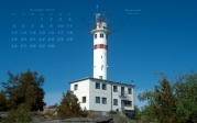 wallpaper November 2012 - lighthouse Skagsudde (S)