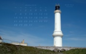 wallpaper October 2013 - lighthouse Girdle Ness (SCO)