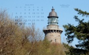 wallpaper January 2014 - lighthouse Lodbjerg Fyr (DK)