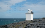 wallpaper June 2015 - lighthouse Black Head (IRL)