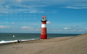 wallpaper February 2016 - lighthouse Noorderhoofd (NL)