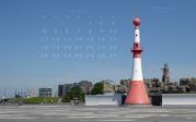 wallpaper July 2016 - front/rear light Bremerhaven (D)