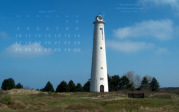 wallpaper April 2017 - lighthouse Schiermonnikoog (NL)