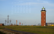 "wallpaper July 2017 - lighthouse ""Alte Liebe"" Cuxhaven (D)"