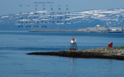 wallpaper November 2017 - lighthouse Fugleneset Hammerfest (N)