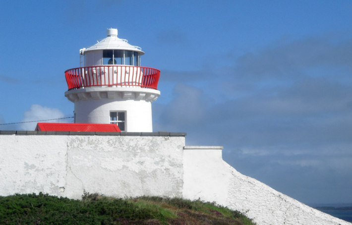 Leuchtturm Kilcredaun Point