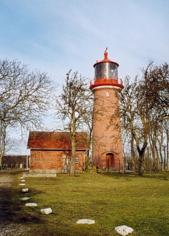 lighthouse Staberhuk on Fehmarn island